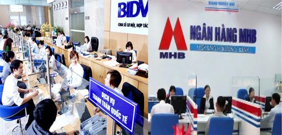 Ngày 25/05 sẽ hoàn thành sáp nhập MHB vào BIDV