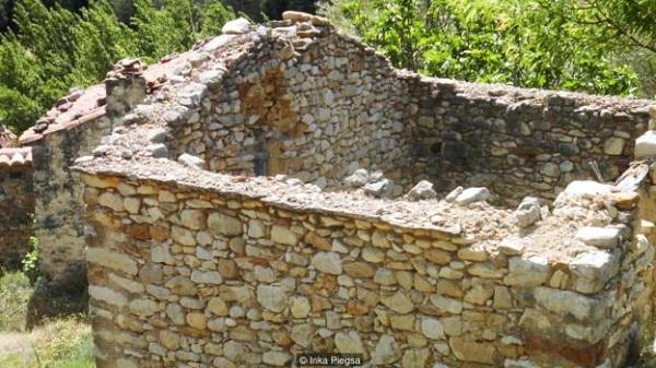 Đây từng là nhà của một người dân của làng La Estrella.