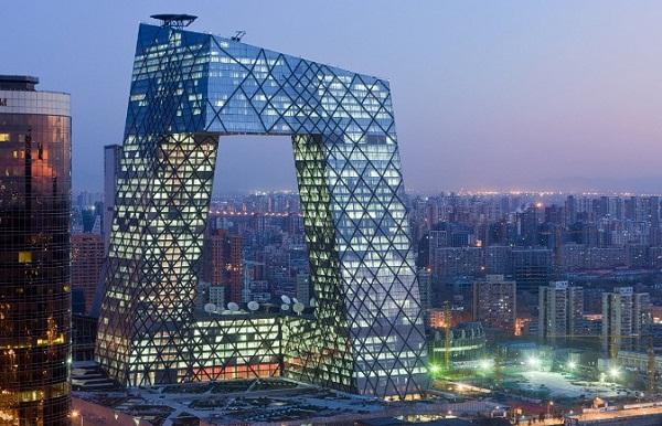 Tòa nhà của Kênh truyền hình Trung Quốc CCTV.
