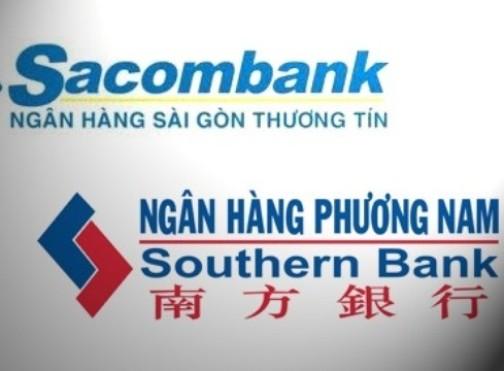 Sáp nhập SouthernBank vào Sacombank vẫn đang chờ ý kiến từ NHNN